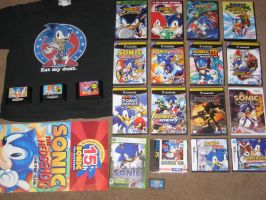 My Sonic Collection by LoneSide360