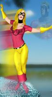 The JSA Jesse Quick by DaswookofHeromorph