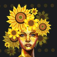 Sunflower Beauty by sweethaven