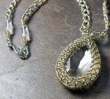 Silver and Gold necklace entry by elderarc