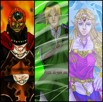 Triforce Powers v2 by hyamara