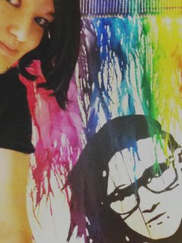 Rainbow Sonny Moore and me by Bre-G