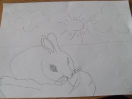 Bunny by RebeccaG1999