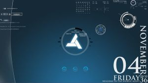 Abstergo Agent Desktop by Journei