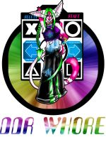 - ddr whore - by raccoonlady