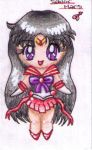Chibi Sailor Mars by puppyloverlani