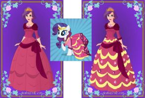 Rarity Grand Galloping Gala Dress by craZ4knux