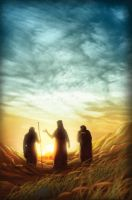 Road to Emmaus by eikonik