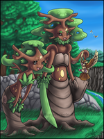 Sudowoodo-Evolutions by Tinuvion