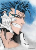Grimmjow Jeagerjaques by blackravens4