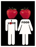 I Love Food by IdeandoGrafica
