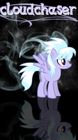 cloudchaser smartphone wp/lock screen by beginerbrony