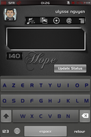 My qTweeter skin for hope theme by ulysseleviet