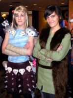 Astrid and Hiccup by CatchingKeys