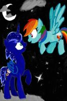 Sonic and Rainbow Dash Meet by Dorhy101