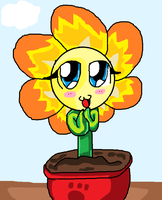.:Contest entry:.Cute flower(1) by amyainrose