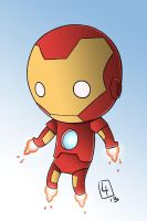Ironman Chibified by CrimsonWalker