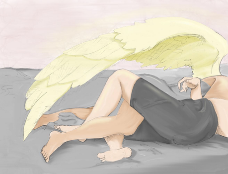 Sunday Morning: Dean and Cas by retronami