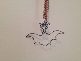 Batty Pendant by lena-lawliet