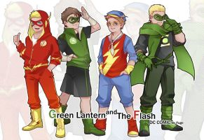 Flash and Gl boys clothes by onlyfuge
