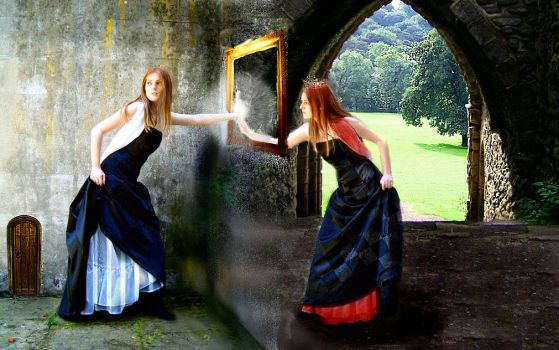 Through the Looking Glass by Dellessanna