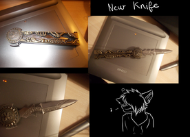 New Knife by StupidUsagiSan