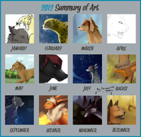 ||Summary of 2012? [oh God...]|| by Jeanne-dArt