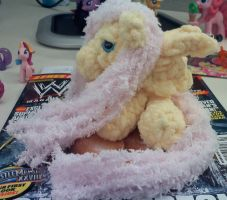 Filly Fluttershy Amigurumi - Side by XantheStar