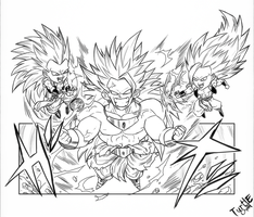Legendary Super saiyan 3 by turtlechan
