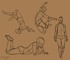 Random Poses by Orlilu