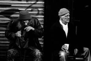 : : mick, baron of brick lane 2011 (candid) by noahsamuelmosko