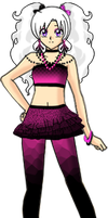 Ilya Pink and Black Outfit 2 by Lyra-Elante