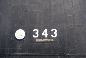 USS Clamagore Riveting by aibrean