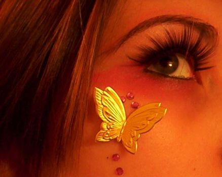 Golden Butterfly by streetchild