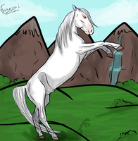 Silver-Commission by Horse-Emotion