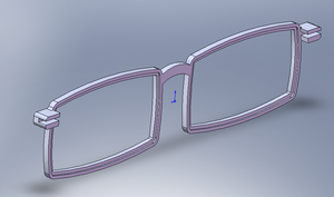 3-D glasses frames 2 by moonlightartistry