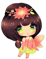 [open] Spring Chibi auction by CMYKidd