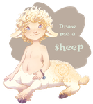 Draw me a sheep - [ CLOSED ] by giz-art