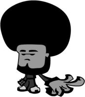 Afro Dude by crimsonsonata