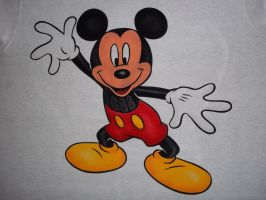 MICKEY MOUSE AIRBRUSHED by javiercr69