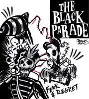 The Black Parade is Dead by XBlackFerretX