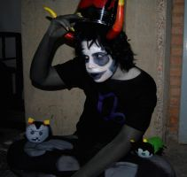 Gamzee is not amused by Eryel
