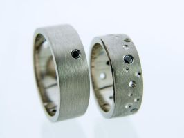 Holey Wedding Bands, Batman by deaddamien