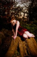 Lyndsay in the Forest by Sharizadel