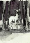 The best of INKtober_Doe by Xanarachne