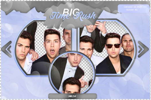 Pack Png 103 - Big Time Rush by camiladearmas481