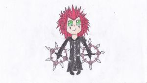 Axel - The Dancing Flame  by Cloudie-Skye
