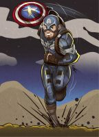 Captain America by geogant
