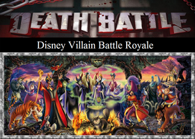 Disney Villain Battle Royale by JasonPictures