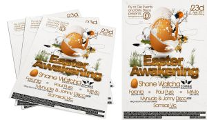 1 side flyer: Easter Awekining by Armidas